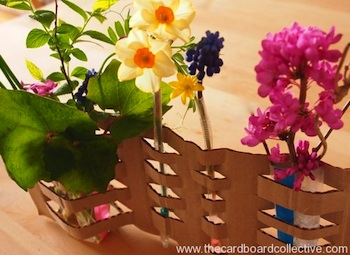 Crafty Flower Vase on cheerful flowers, photography flowers, decorating flowers, reading flowers, awesome flowers, cute flowers, random flowers, chic flowers, artsy flowers, love flowers, knitting flowers,