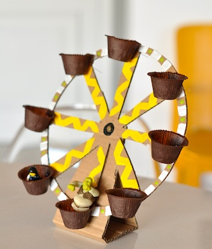 cardboard craft ferris wheel