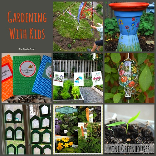Gardening With Kids Crafts Ideas Projects