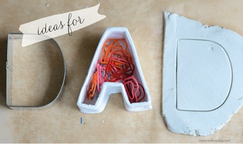 diy alphabet containers