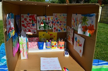 recycled cardboard box art room & Cardboard Box Art Room - Things to Make and Do Crafts and ... Aboutintivar.Com