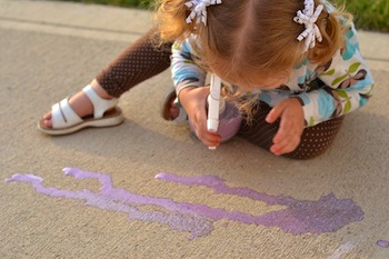 chalk paint spray tutorial