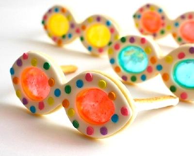 Summer Sun Glasses Cookies