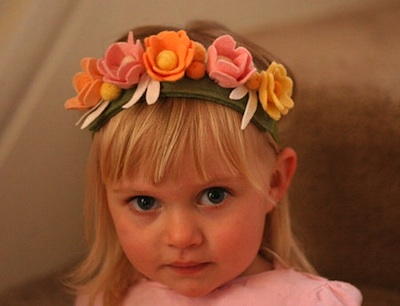 Flower Fairy Crown by Sqrl & Bee