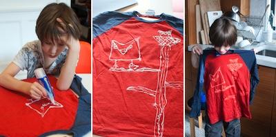 bleach drawings on t-shirts diy tutorial