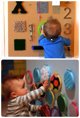 diy sensory boards for babies and toddlers tutorial