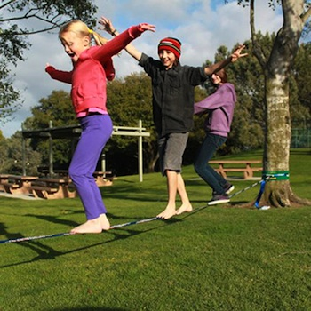 Imagine Childhood slackline