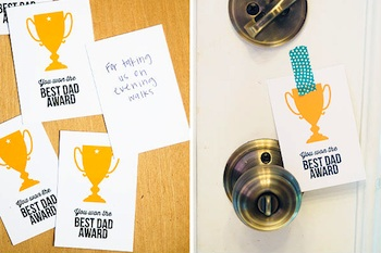 printable trophy dad awards for father's day