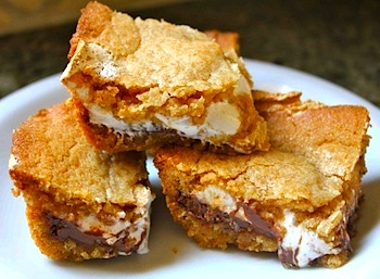how to make s'mores smores bars