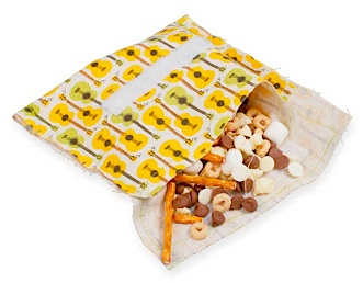 Sewing School 2 reuseable snack bag tutorial diy