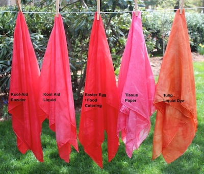 Rachael Rabbit kid friendly dyeing silks