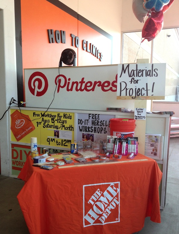 Home Depot Gift Card Winner and #DIHWorkshop Info! - Things to ...