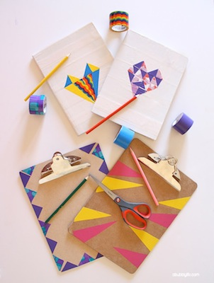 back to school ideas notebook makeover