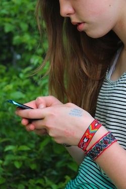 brocade ribbon bracelets diy