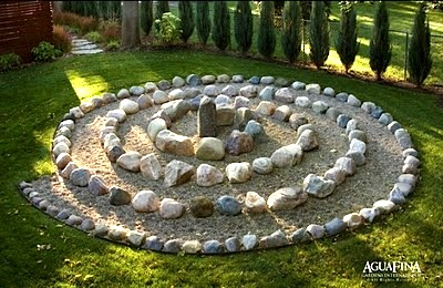 labyrinths in children's playscapes diy labyrinths