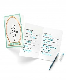 free printable father's day card answer questions about dad and draw a portrait