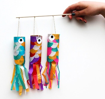 Flying Japanese Carp Craft