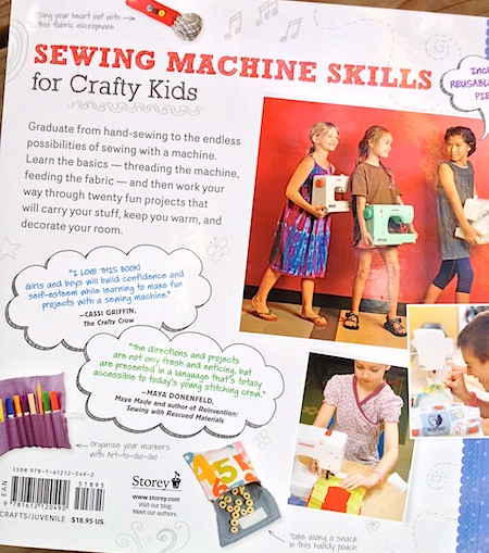 Sewing School 2 back cover