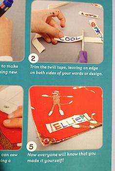 Sewing School 2 handmade labels