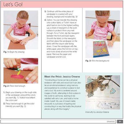 Art Lab for Little Kids crayon fun excerpt p2