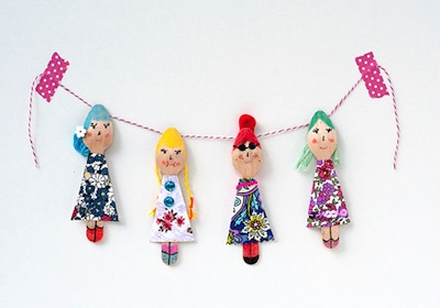 Wood Spoon Dolls Things To Make And Do Crafts And Activities For