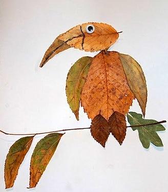 leaf pictures autumn craft