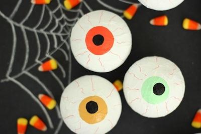 eyeball party favor treat holders halloween craft
