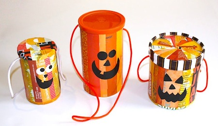 carton trick-or-treat bag