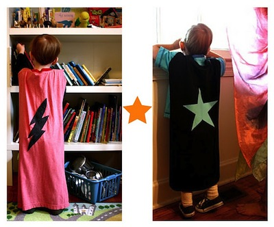 super hero cape and cuff diy