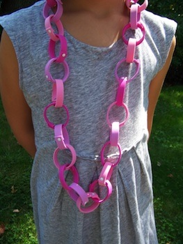 craft foam chain links diy tutorial