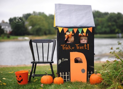 halloween play house halloween craft