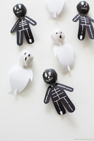 spooky lollipops treat for Halloween