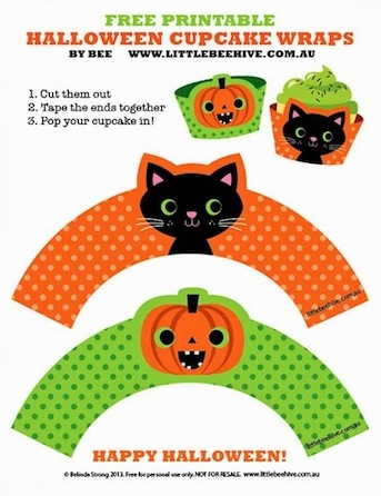free halloween printables - Free Halloween Crafts For Kids