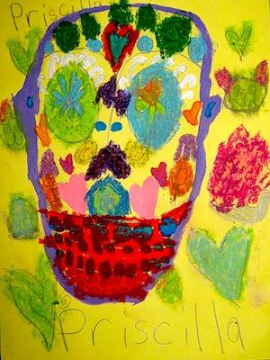 dia de los muertos art for kids