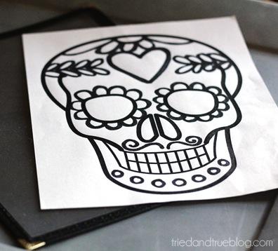 dia de los muertos free printable