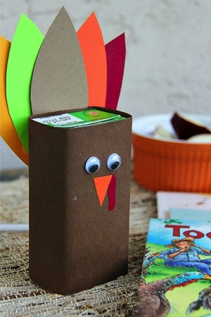 turkey juice box decoration