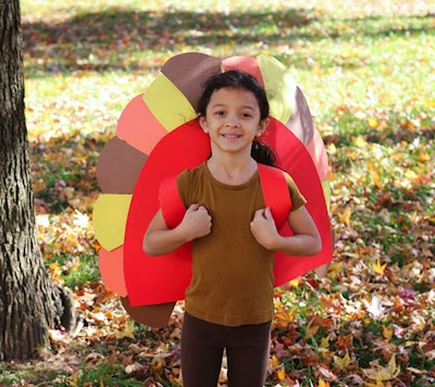 diy turkey feather costume