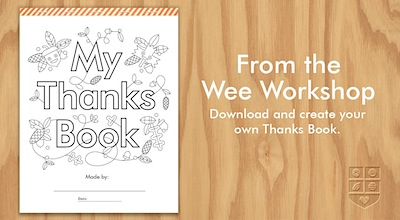 Free Thanks Book Printable For Thanksgiving