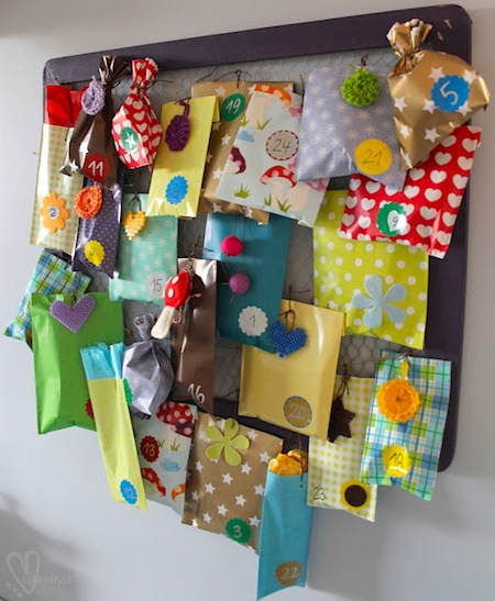 Creative Handmade Calendar Ideas : Creative homemade advent calendars things to make