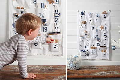 pocket advent calendar diy idea