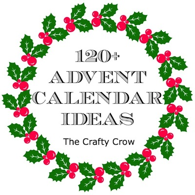 Advent calendar ideas The Crafty Crow