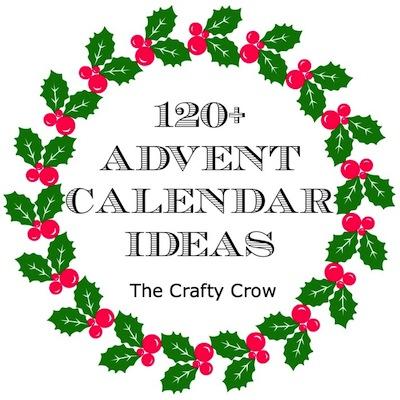 Advent calendar ideas The Crafty Crow