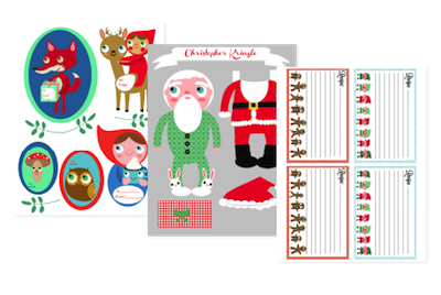 A Very Merry Advent printables