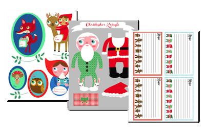A Very Merry Advent printables