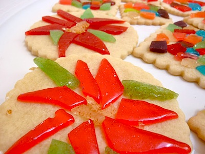 stained glass mosaic cookies tutorial