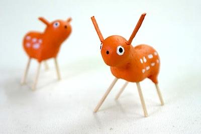 Adorable Handmade Reindeer And Santa Toys Things To Make And Do