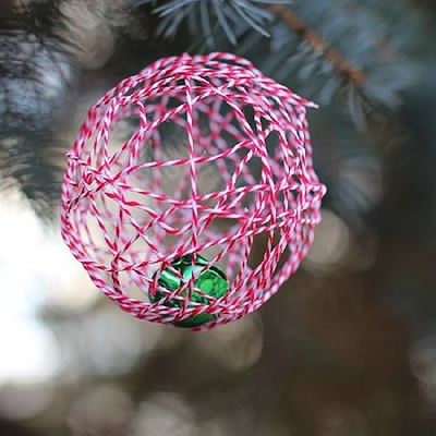 baker's twine ornament