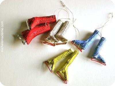 twig skates ornament idea