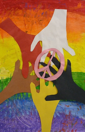 Martin Luther King Jr. Day art project
