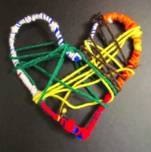 Martin Luther King Jr. Day dream catchers craft